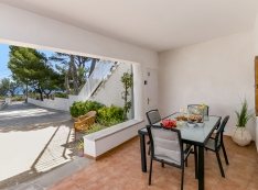 19 m² nice porch where you will enjoy pleasant breakfasts overlooking the sea